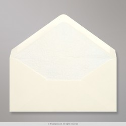 110x220 mm (DL) Ivory Envelope Lined With White Fancy Paper