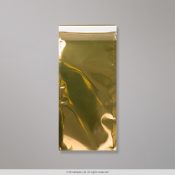 229x114 mm Gold Translucent Foil Bag