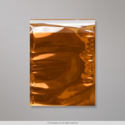 165x165 mm Orange Translucent Bag