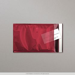 324x230 mm (C4) Sachet Transparent Rouge