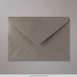 133x184 mm Grey Envelope, Grey, Gummed