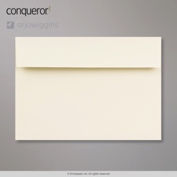 162x229 mm (C5) Cream Conqueror Wove Envelope, Cream, Peel and Seal