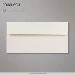 110x220 mm (DL) Oyster Conqueror Contour Envelope, Oyster, Peel and Seal