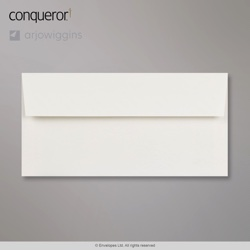 WT01351 - 110x220 mm (DL) Sobre Blanco brillante Conqueror