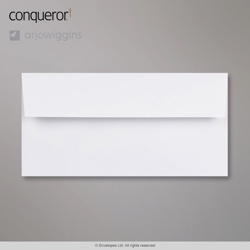 WT01440 - 110x220 mm (DL) Sobre Blanco intenso Conqueror