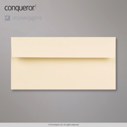 110x220 mm (DL) Vellum Conqueror Laid Envelope, Vellum, Peel and Seal
