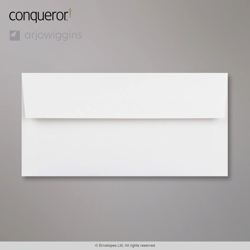 WT01517 - 110x220 mm (DL) Sobre blanco brillante Conqueror