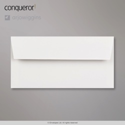 WT01518 - 110x220 mm (DL) Sobre blanco intenso Conqueror