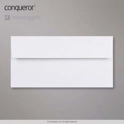 WT01522 - 110x220 mm (DL) Sobre blanco diamante Conqueror