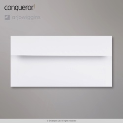 WT01625 - 110x220 mm (DL) Sobre blanco diamante Conqueror