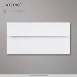 WT03004 - 110x220 mm (DL) Sobre Blanco diamante Conqueror