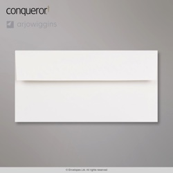 WT082910 - 110x220 mm (DL) Sobre blanco Conqueror