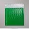 165x165 mm Green Poly Gloss Bubble Bag